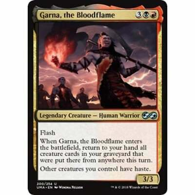 the Bloodflame FOIL Ultimate Masters NM Uncommon CARD ABUGames Garna