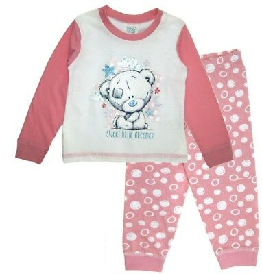 Baby Girls Tatty Teddy Pjs Babies Me To You Pyjamas Sweet Littkle Dreamer Size