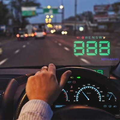 Universal GPS A5 Head Up Display Digital LED Speedometer Windshield Projector