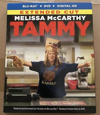 Tammy (Blu-ray Disc, 2014, 2-Disc Set) NEW + SLIPCASE +FREE USPS FIRST CLASS S/H