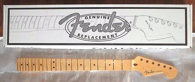 "Fender USA One Piece Maple Strat Neck~9.5""-14 Compound Radius~22 Fret~Brand New"