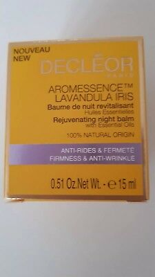 Decleor Lavendula Iris Rejuvenating Night Balm 15ml Boxed Item