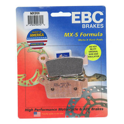 EBC MXS Series Moto-X Race Brake Pads Rear #MXS131