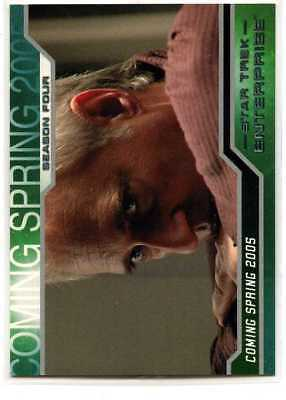 Star Trek Enterprise Season 4 - P2 - 2005 - Promo Card