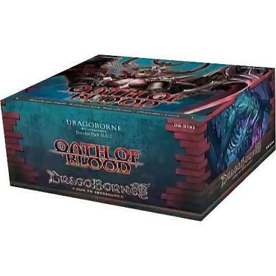 Dragoborne: Rise To Supremacy - Oath Of Blood Booster Box- Db-Bt02