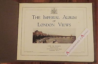 The Imperial Album of LONDON Views Photographies Londres Circa 1920/1930 UK