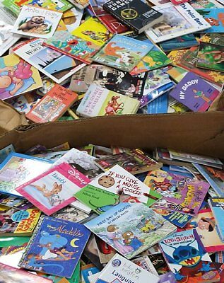 Huge Bulk Lot of 25 Children's Kids PICTURE Books INSTANT CLASSROOM LIBRARY