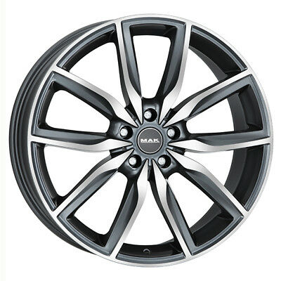 ALLOY WHEEL MAK ALLIANZ MERCEDES CLA SHOOTING BRAKE 8x19 5x112 GUN MET-MIRRO