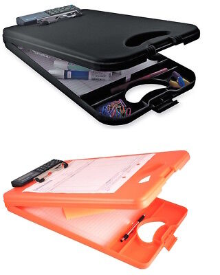 Saunders US Works DeskMate II Plastic Storage Clipboard SELECT YOUR COLOR!