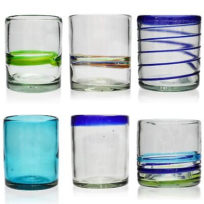 Tumbler - Hand Blown from Recycled Glass - Ethically Sourced from Mexico