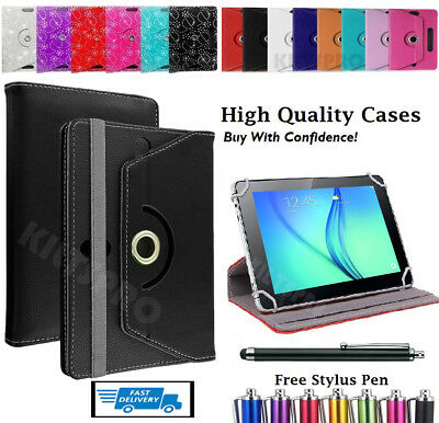 """360 Flip Stand Case Cover For Huawei MediaPad T3 8"""" Inch Tablet + Free Pen"""