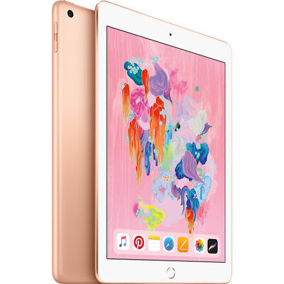 Apple iPad 6th Gen (Early 2018) 32GB Wi-Fi Only 9.7in - Gold Brand NEW Sealed