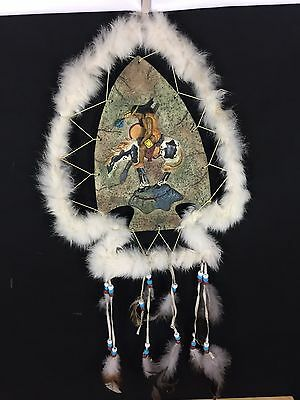 NATIVE AMERICAN Indian Dreamcatcher - ARROWHEAD 3-D Dream Catcher 3D