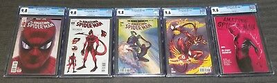 Amazing Spider-Man 796 797 798 799 800 1st Red Goblin CGC 9.8 and 9.6  Lot of 5
