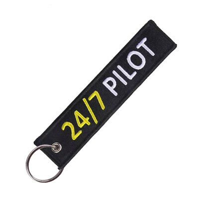 Llavero 24/7 PILOT REMOVE BEFORE FLIGHT Avión A380 777 Airbus Maletas Llaves
