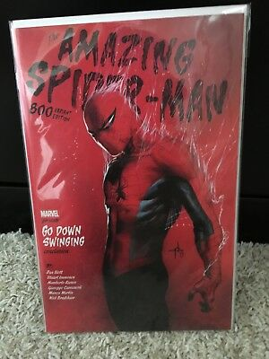 Amazing Spiderman 800 Gabrielle Dell Otto 1:25 Incentive Variant Nm