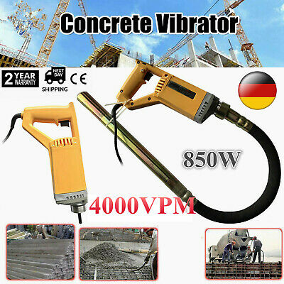 Hand Held Concrete Vibrator Power Tool w/ 100cm Shaft to Remove Air Bubbles USA