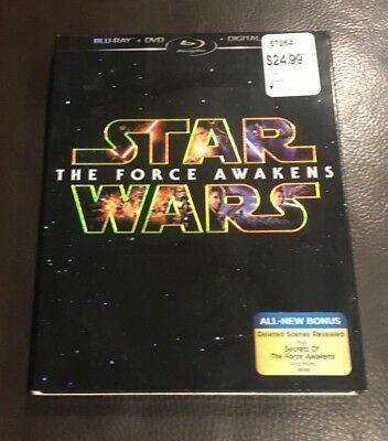 Star Wars: The Force Awakens (Blu-ray/DVD) NEW