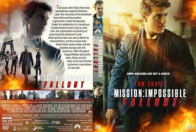 """mission Impossible: Fallout"" (Dvd 2018) Free Shipping  Factory Sealed"