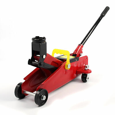 2 Ton Hydraulic Trolley Floor Jack Car Van Garage 2000kg Lift TUV CE Heavy Duty