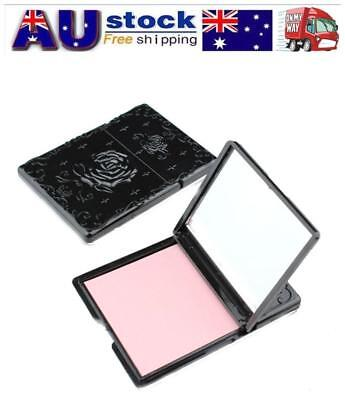 Anna style Retro Oil blotting Paper Rose Case Mirror with Oil blotting Papers AU