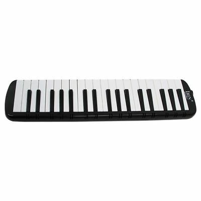 IRIN Black 37 Piano Keys Melodica Pianica w/Carrying Bag For Students D4Y3)