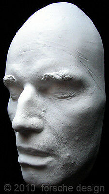 Charlton Heston Life Mask: Ben-Hur, Planet of the Apes, Welles' Touch of Evil