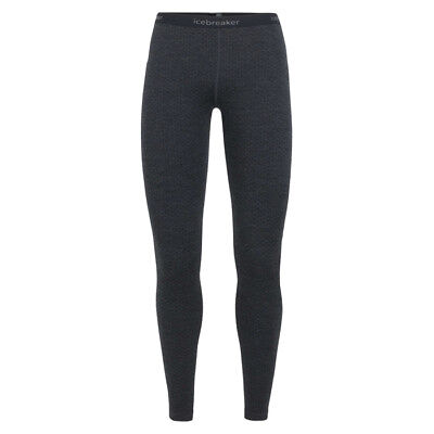 icebreaker - 250 Vertex Leggings Mountain Dash Women - jet heather/black -