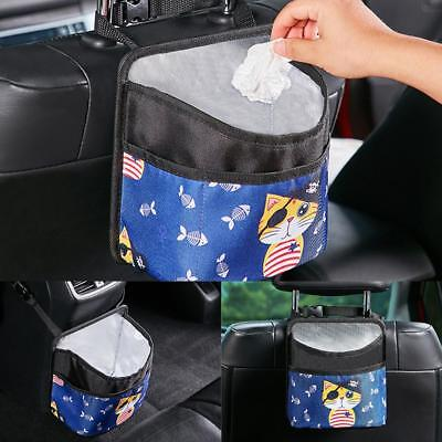Garbage Bag Recyclable Car Trash Basket for Litter Large Capacity Leak-Proof