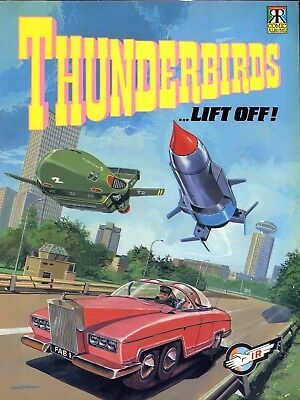 Thunderbirds Comic - Gerry Anderson - Lift Off! - Ravette Books 1992 - Reduced!!