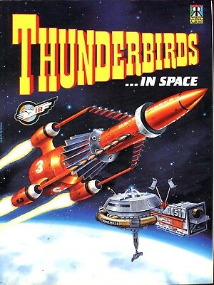 Thunderbirds In Space - Comic - Gerry Anderson - Ravette Books 1992 - Reduced!!