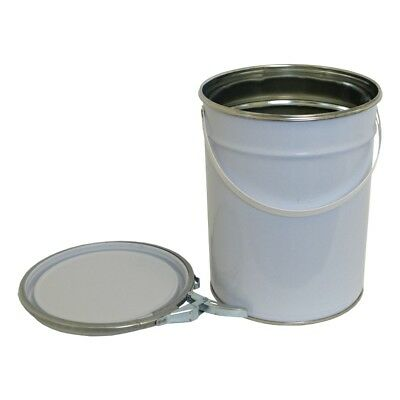 5 L Ltr Litre Metal Tinplate Bucket Pail for Solvent Based Products Paint Adhesi