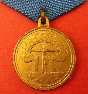 Russian CHERNOBYL Commemorative MEDAL Nuclear Station Disaster Catastrophe Award