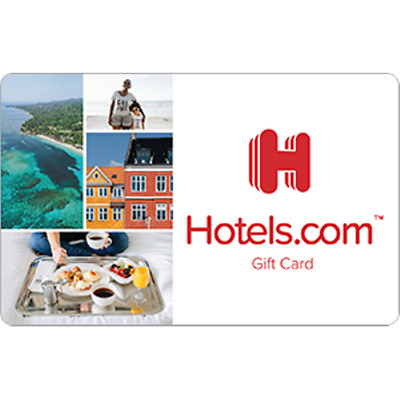 Hotels.com Gift Card $100 Value, Only $97.00! Free Shipping!