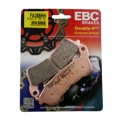 EBC FA388HH Replacement Brake Pads for Front Honda NC 700 X ABS 12-14