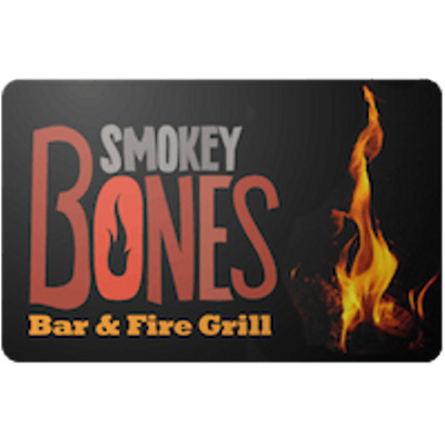 Smokey Bones Gift Card $100 Value, Only $94.00! Free Shipping!