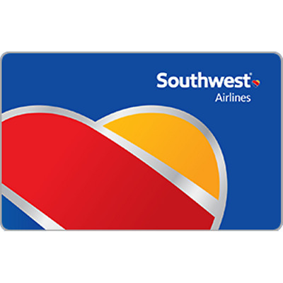 Southwest Airlines Gift Card $50 Value, Only $49.50! Free Shipping!