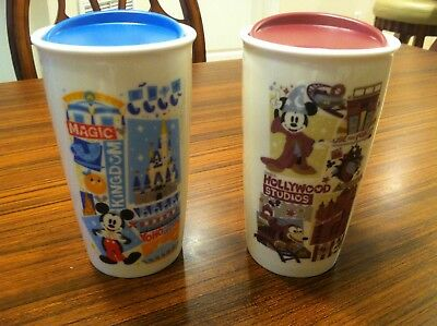 Starbucks Disney Magic Kingdom Hollywood Studios Attraction Ceramic Tumbler Mug