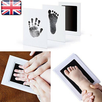 Baby Inkless Touch Footprint Handprint Ink Pad Non Toxic Mess UK Commemorate UK