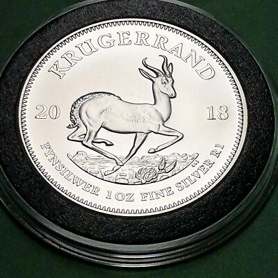 2018 Krugerrand South Africa 1 Troy Oz .999 Fine Silver Collectible Round Coin