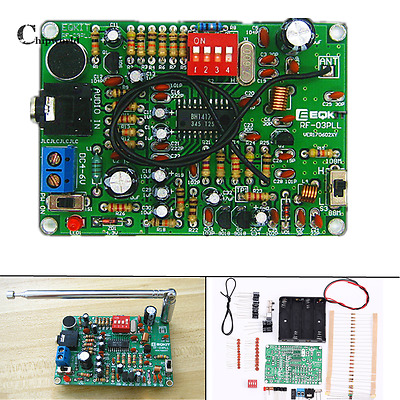 FM Frequency Modulation Transmitter Wireless Microphone Module 4-6V DIY Kit