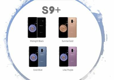 Samsung Galaxy S9 Plus SM-G965U 64GB with OEM Accessories Sprint or Boost Locked