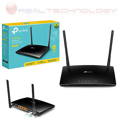 TP-Link TL-MR6400 Router 4G LTE, Wi-Fi N300, 300Mbps Wireless N 4G LTE Router