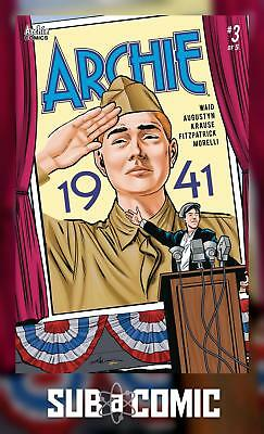 ARCHIE 1941 #3 COVER A KRAUSE (ARCHIE 2018 1st Print) COMIC