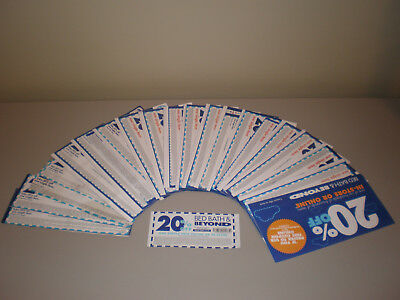 Bed Bath & Beyond Coupons (20% OFF) LOT OF 25 - *Holiday Shopping* SAVE $$$