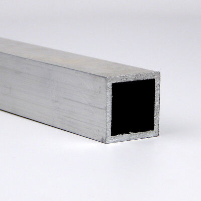 "0.5"" x 0.063"" 6063 T52 Aluminum Square Tube 12"" Length"