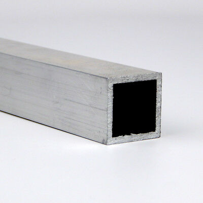 "0.5"" x 0.063"" 6063 T52 Aluminum Square Tube 36"" Length"