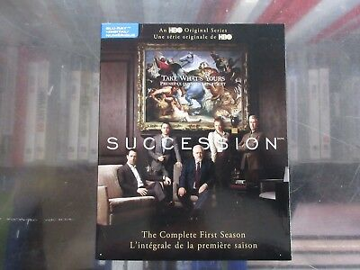 Succession Blu Ray Digital Complete Season 1 First Brand New Sealed