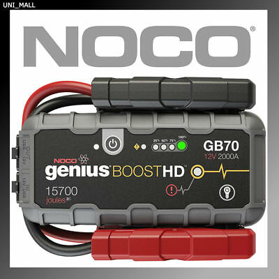 NOCO Genius Boost GB70 2000Amp 12V Lithium Jump Starter (Free 2nd Day Shipping)