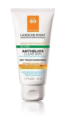 La Roche-Posay Anthelios Clear Skin Face Sunscreen for Oily Skin with SPF60.